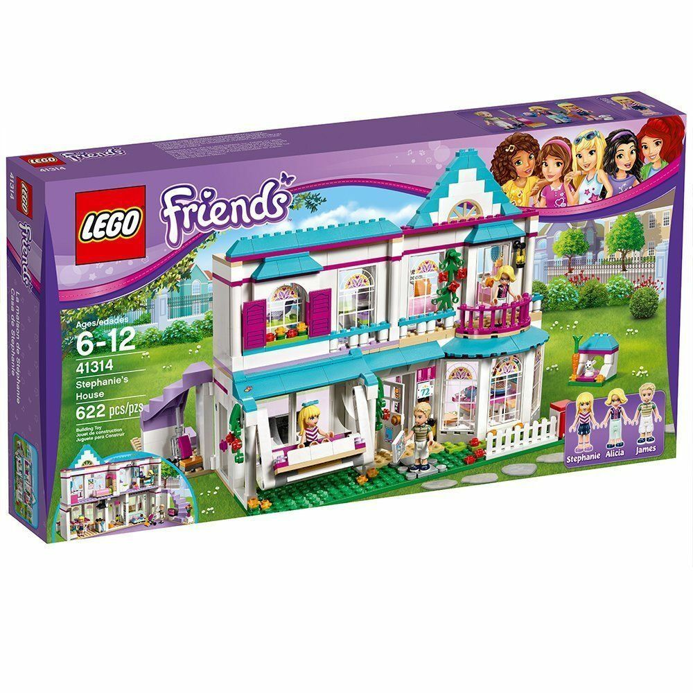 LEGO Friends 41314  Stephanie's House -Brand New