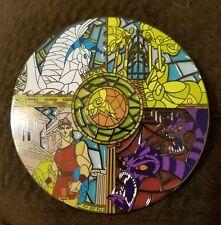 Fantasy pin Hercules Jumbo Stained glass disney  Le 100 Megara, Hades.
