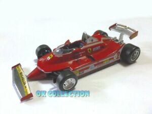 Rare Model 1:43 FERRARI 312 T5 (1980) Gilles Villeneuve (NO BOX)