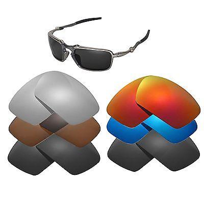 Walleva Replacement Lenses For Oakley Badman Sunglasses