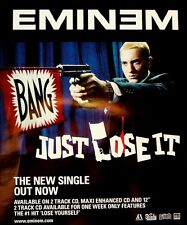 Eminem 2004 Poster Ad Just Lose It