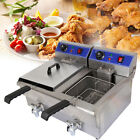 20L Commercial Electric Faucet Deep Fryer Stainless Steel Fast Food Restaurant