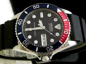 Seiko SKX031 Diver Day Date 7S26-0040 Automatic Mens Watch Authentic Working