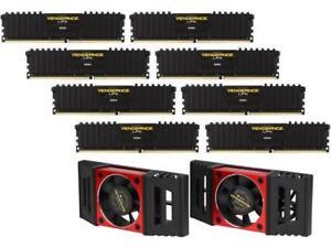 CORSAIR Vengeance LPX 128GB (8 x 16GB) 288-Pin DDR4 SDRAM DDR4 3800 (PC4 30400)
