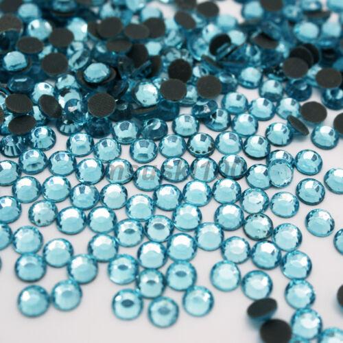 Hotfix Cristallo Vetro Gemme di Strass Diamante Finto Decorazione Scarpe Abito