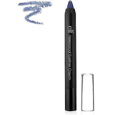 E.L.F Cosmeticos Lápiz Perfilador ojos Resistente al Agua, Azul Marino elf E334