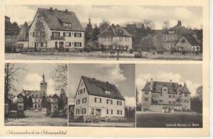 Schwarzenbruck - Straßenpartie, Schlösser, Warenhandlung ngl 228.314