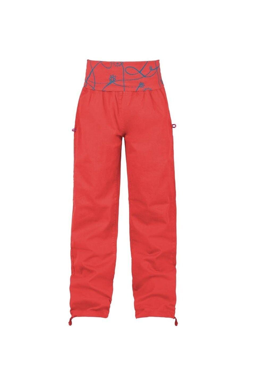 E9 Giada  Pantaloni per Arrampicata per Ragazze, Rosso, Erl 104110 4 Anni