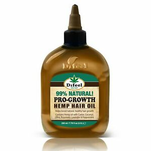 Difeel-Hemp-99-Natural-Hemp-Hair-Oil-Pro-Growth-7-78-oz