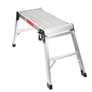 Folding Platforms Bench Hop Step Decorators Plasterers