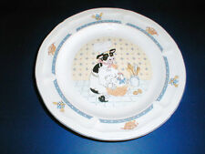 Newcor KITCHEN KOW Country Farm Barn Cow Salad Plate/s (LOC-33)