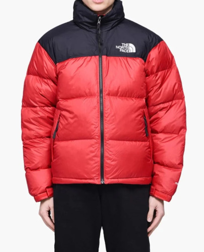 The North Face Nuptse 1996 Packable Men's Red Blac