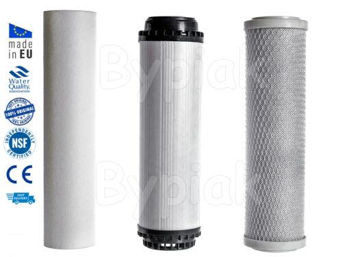 Home Under Sink Water Purifier and Softener Filter Kit – Salt Free