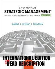 NEW Essentials of Strategic Management (5th Edition) (International Edition)