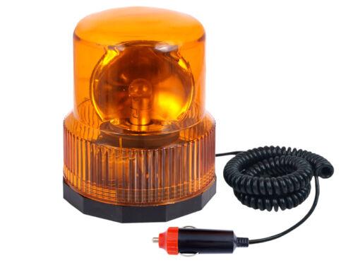 Luce lampeggiante luce lampeggiante GIREVOLE LAMPADA DI SEGNALAZIONE h1 12v//24v Connettore DIN