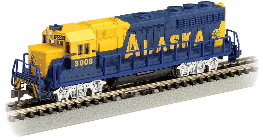 N Bachmann 63558 Alaska GP40 Diesel Loco w  Operating Dir Lites (Tested)