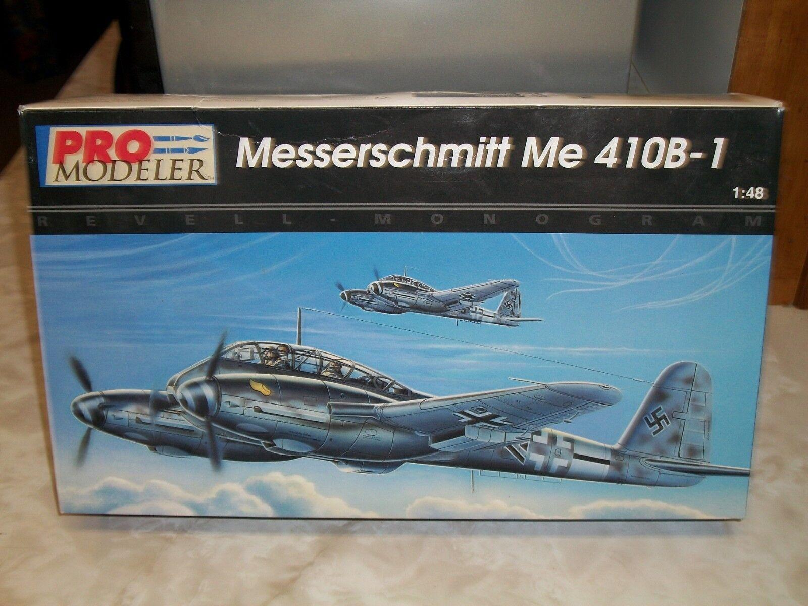 Revell   Monogram 1 48 Scale Messerschmitt Me 410B-1 + Cutting Edge Masks