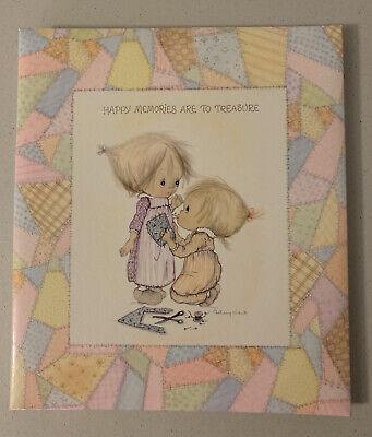 Precious Moments 1972 Hallmark Betsey Clark Scrapbook Photo Album Memories Last Forever Girl Ca