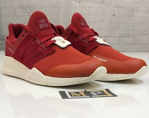 Todo el tiempo Final Detector  New Balance 247 Time Zone Pack MS247NSH Lifestyle Shoes Rio Red White Size  10.5   eBay