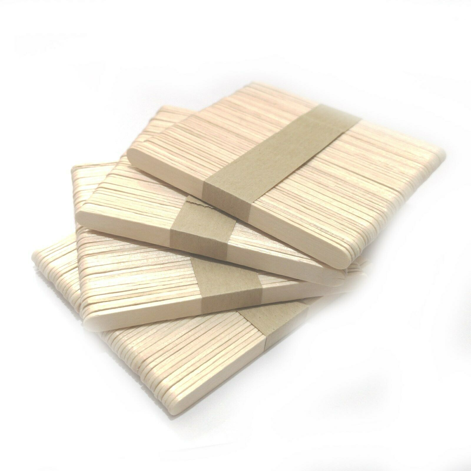 50 Lolly Sticks Superior Quality Birch Craft Plant Label Lollipops Models Waxing
