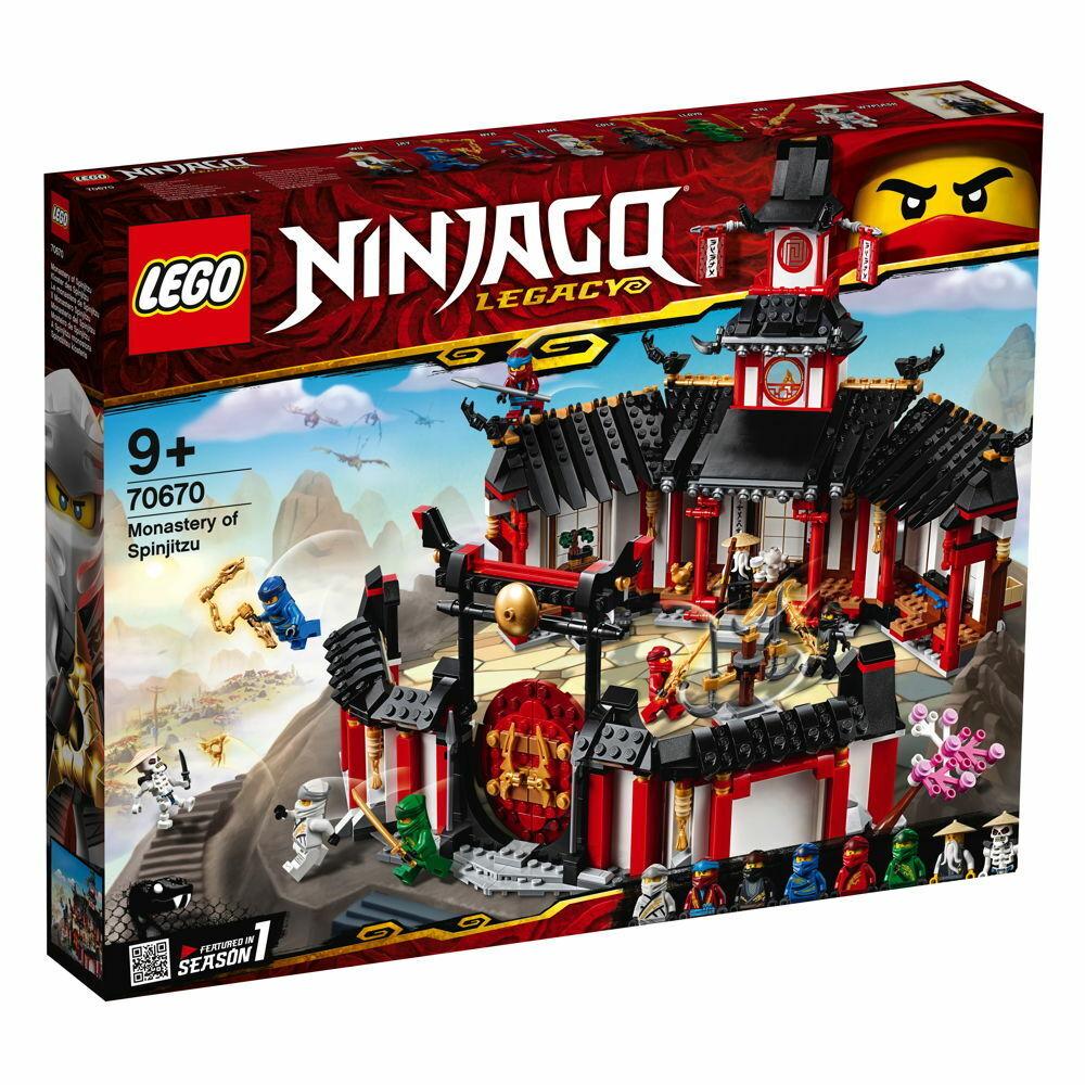 LEGO® NINJAGO Kloster des Spinjitzu Spinjitzu Spinjitzu 1070 Teile 70670 6e6859