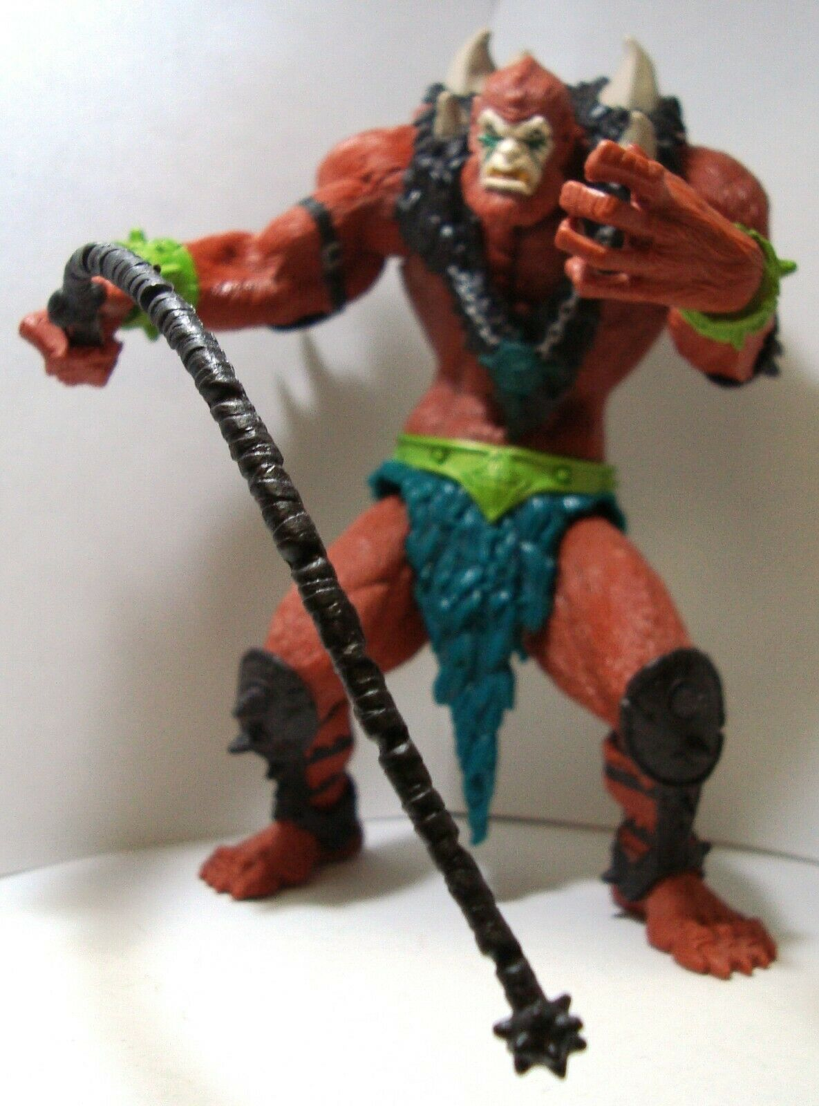 MASTERS OF THE UNIVERSE MODERN SERIES BEASTMAN EVIL HENCHMAN WHIP 100% COMPLETE