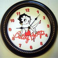 Custom Made Betty Boop 12 Wall Clock - In Box