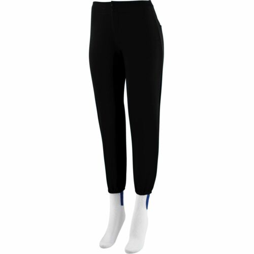 829 Augusta Sportswear Girls Low Rise Back Pocket Polyester Softball Pant
