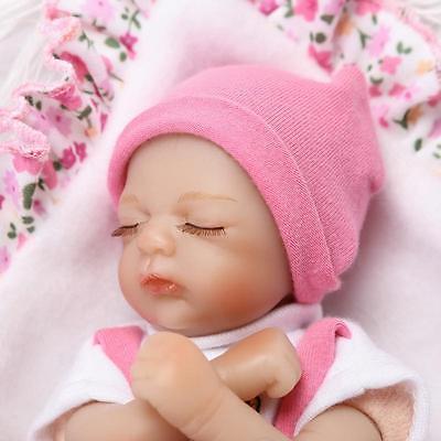 High Quality Handmade 8/'/' 20cm Mini Cute Baby Reborn Baby Lifelike Kids Toy