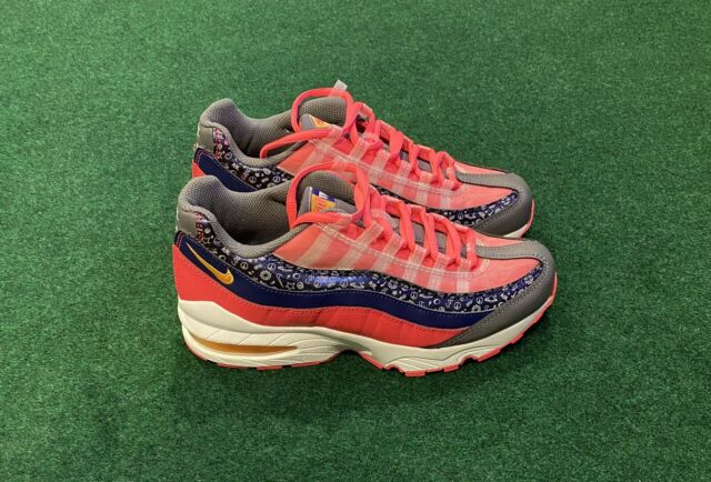 Nike Air Max 95 GS Shoes Racer Pink White Ci9933-500 Youth Size 6y