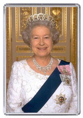Queen Elizabeth The Second Fridge Magnet 03