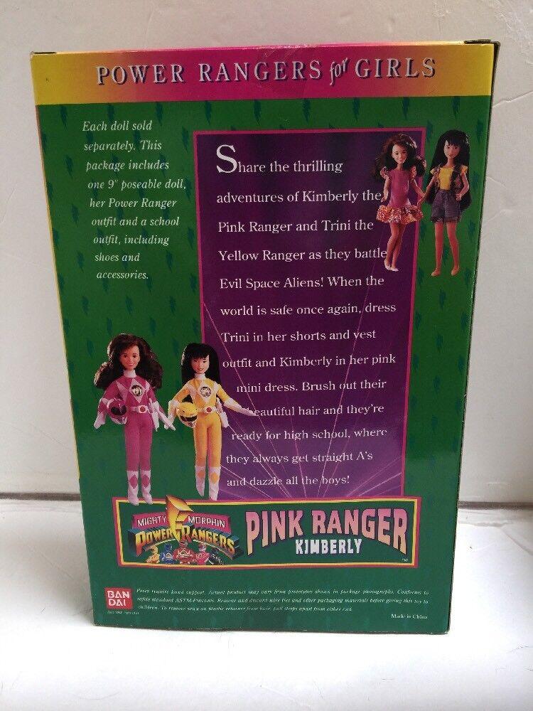Pink Power Ranger Figure; 1994 Ban Dai, New New New in Box b51e57
