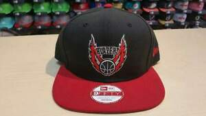 129e6ae1c28 NewEra NBA Portland Trail Blazers 2 Tone Black 9fifty Snapback Cap ...