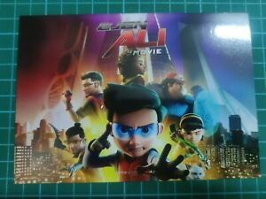 Ejen Ali The Movie Collection Postcard Maxima Card Mint Unused New (no stamp)