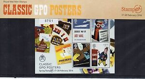 ROYAL MAIL 500 PRESENTATION PACK SPRING STAMPEX 2016 Limited Edition Numbered