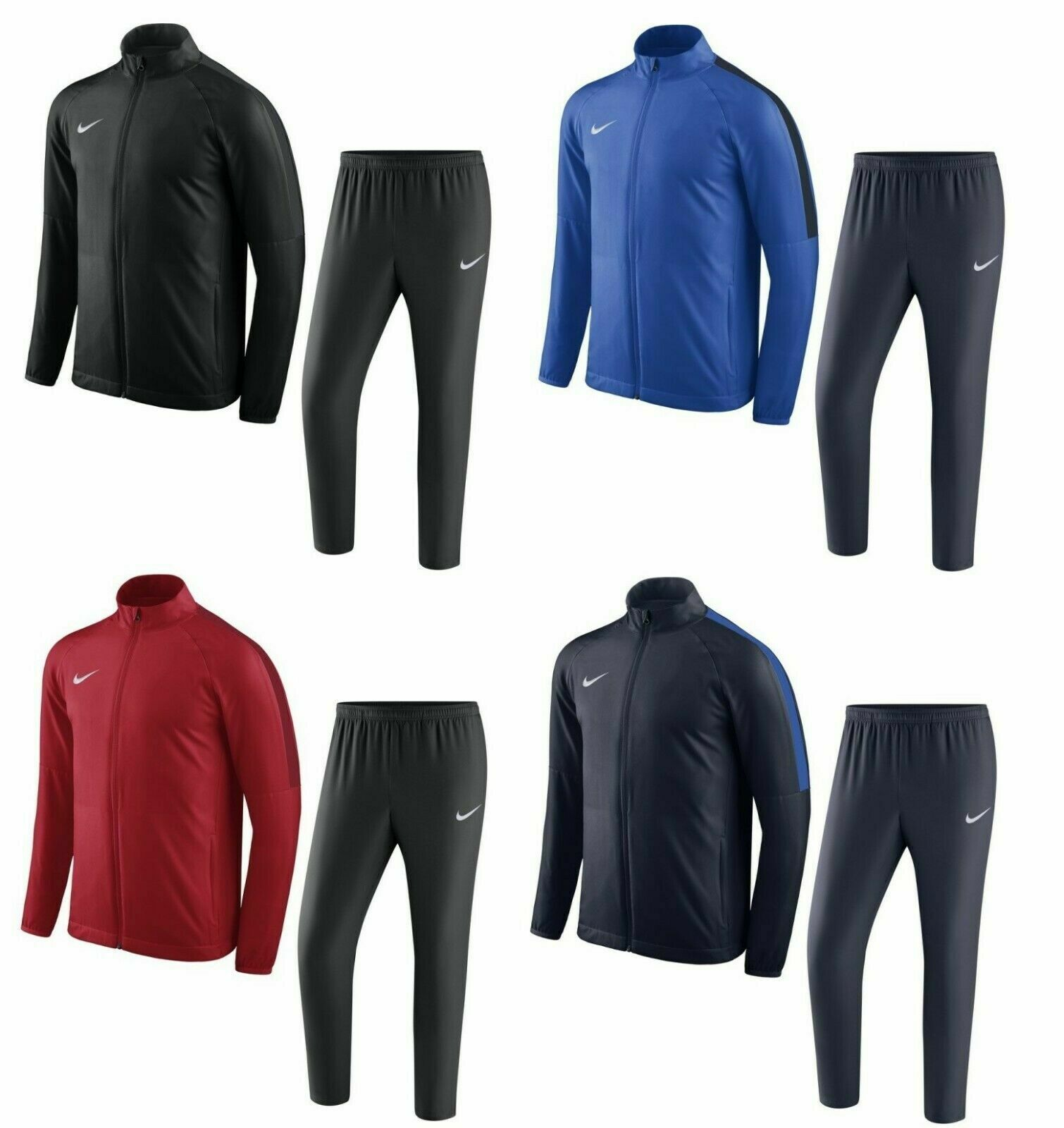 Nike Zip Tracksuit Jogging Jacket Top Joggers Training Pants Bottoms Sweatpants