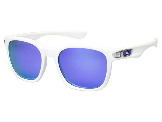 1575426cfc Oakley Garage Rock Sunglasses Polished White Frame Violet Iridium ...