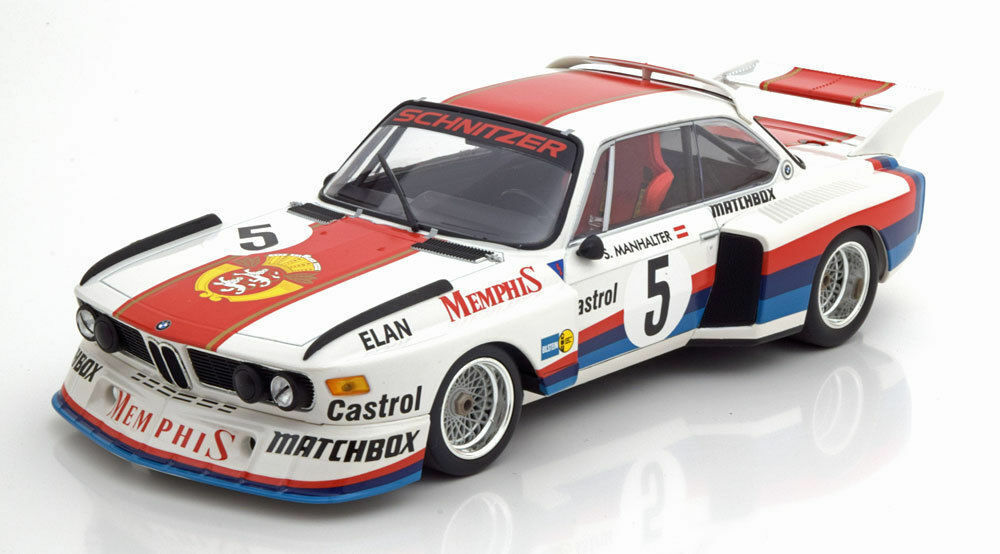 Minichamps 1977 BMW 3.5 CSL ganador Havirov Havirov Havirov International manhalter  5 1 18New  d19e36