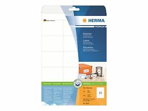 HERMA 5055 Etiketten Premium A4 70x50,8 mm weiß Papier matt 375 St.