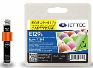 JetTec T1291 Black Compatible Ink Cartridge for Epson - E129B