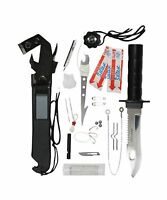 Rothco Deluxe Adventurer Survival Kit Knife Free Shipping