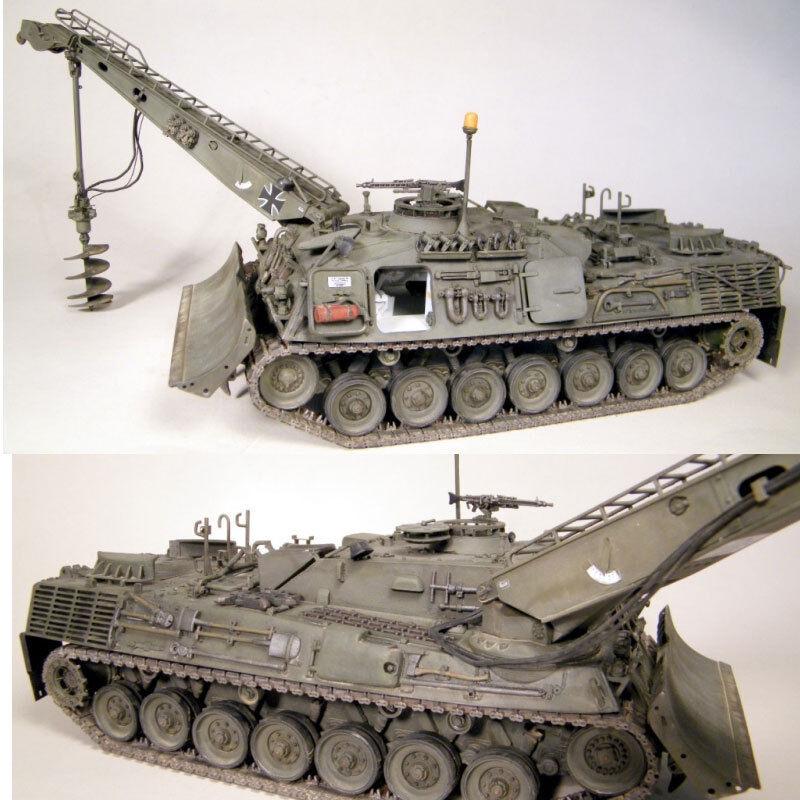 Perfect Scale Modellbau 1 35 German Leopard 1 AEV w Interior