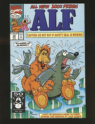 Alf # 48 - Controversial Risqué Seal cover NM- Cond. | eBay