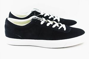 Converse-One-Star-Ox-Mens-Size-12-Black-Suede-Shoes-155578C