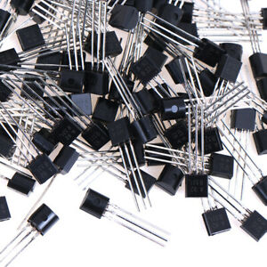 100PCS-LOT-MPSA92-TO-92-New-Throught-Hole-new-triode-TransistPG