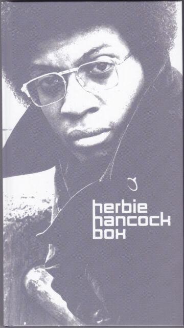 HERBIE HANCOCK - The Herbie Hancock Box 4 x CD ! Best Of 1973 - 1988 Jazz - Funk