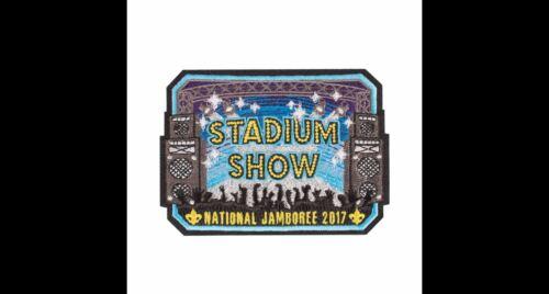 DONALD TRUMP 2017 BOY SCOUT OFFICIAL NATIONAL JAMBOREE STADIUM SHOW PATCH EMBLEM