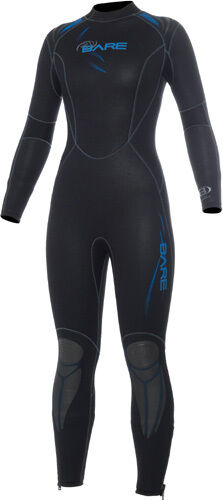 Bare Sport-5 Full - 5mm Half Dry Suit for Ladies - Thermalskin