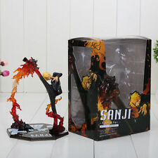 One Piece Action Figure Sanji Battle version jambe 19 cm calcio