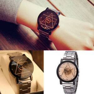 Stainless-Steel-Watches-Wrist-Watch-Mens-Fashion-Quartz-Analog-Womens-Compass-H